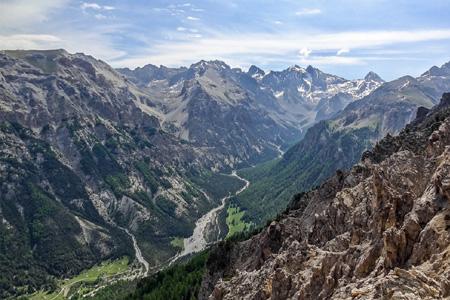Le Val d'Escreins dans les Alpes du Sud