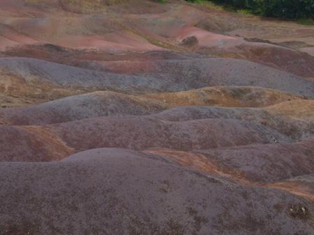Terres des sept Couleurs de Chamarel, île Maurice