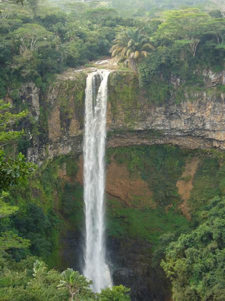 cascade de Chamarel, île Maurice