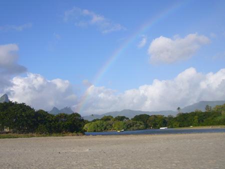 Île Maurice plage de Tamarin