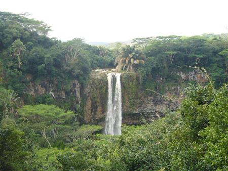 cascades de Chamarel à l'île Maurice