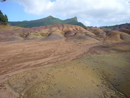 Terres des sept Couleurs de Chamarel à l'île Maurice