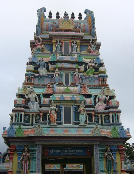 Temple Tamoul, île Maurice