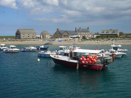 Le port de Goury en Normandie