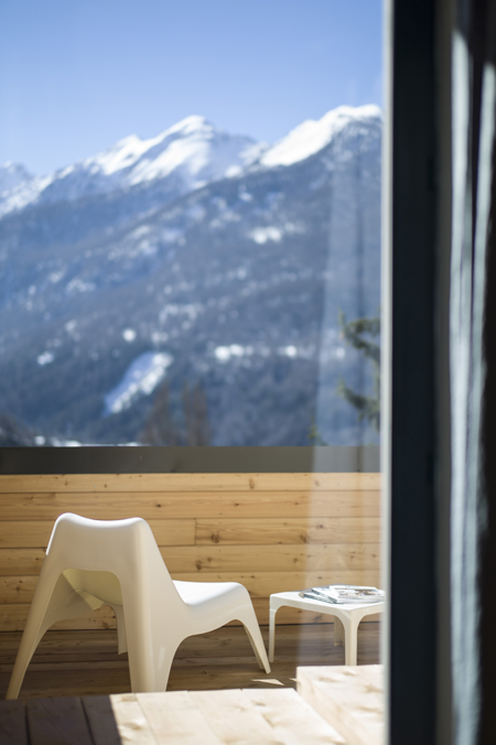 La Maison Cimes à Orres dans les Hautes-Alpes