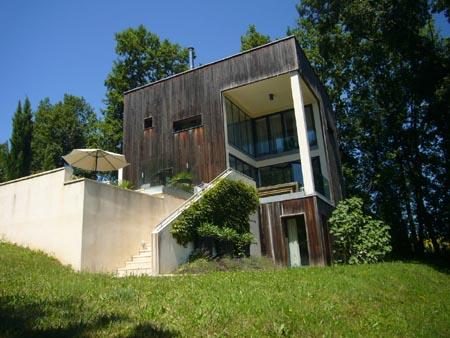 Maison d'architecte à Lusignac