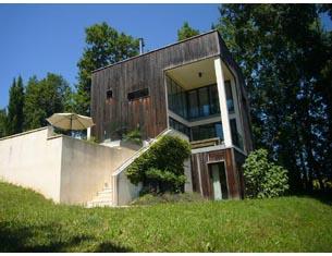 Dordogne : maison d'architecte et beaux villages