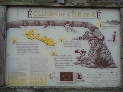écluses de l'île de Ré