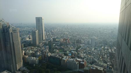 Tokyo depuis le Tokyo Metropolitan Building