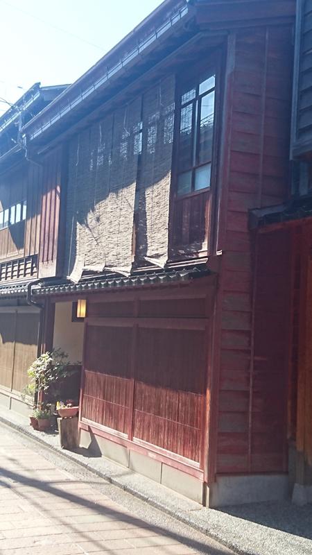 quartier des Gheishas, Higashi Chaya, à Kanazawa