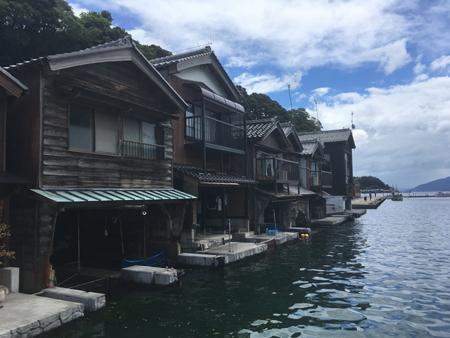 Ine, village de pêcheurs