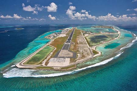 aéroport de Malé aux Maldives