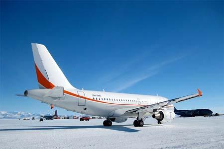 Ice Runway en Antartique