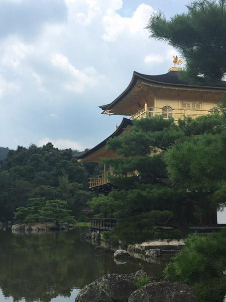 Kinkaku-ji , le Pavillon d'Or à Kyoto