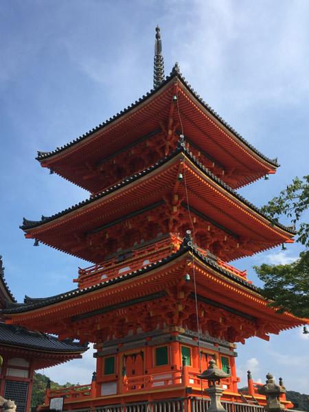 Kiyomizu-dera à Kyoto