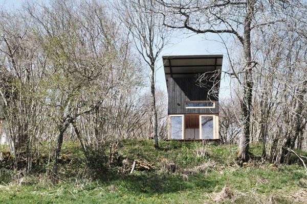 Retraite Slow en Auvergne, cabanes Le Bois Baslate