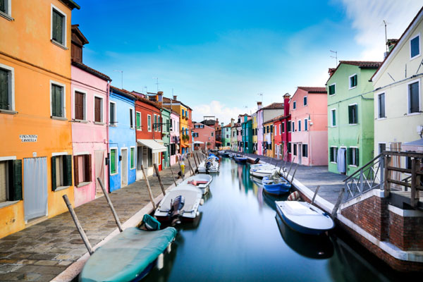 Burano à Venise