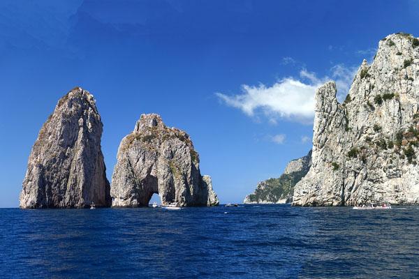 Les Fariglioni à Capri