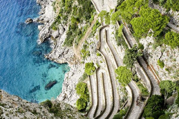 Via Krupp à Capri